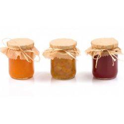 Mermeladas, mieles y frutas en almíbar